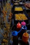 Τα τρόφιμα οδών στοκ εικόνες