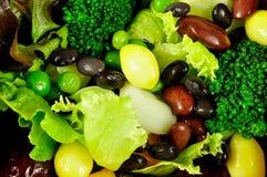 Τα τρόφιμα σαλάτας υγιή για το υπόβαθρο Στοκ φωτογραφίες με δικαίωμα ελεύθερης χρήσης