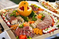 Τα τρόφιμα τομέα εστιάσεως, κλείνουν επάνω Στοκ εικόνες με δικαίωμα ελεύθερης χρήσης