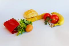 Τα τρόφιμο-έξοδα της ημέρας Στοκ φωτογραφία με δικαίωμα ελεύθερης χρήσης