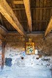 Τα υπολείμματα της οικοδόμησης του Michael η εκκλησία αρχαγγέλων πόδι Στοκ εικόνες με δικαίωμα ελεύθερης χρήσης