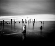 Τα υπόλοιπα του παλαιού λιμένα Στοκ φωτογραφία με δικαίωμα ελεύθερης χρήσης