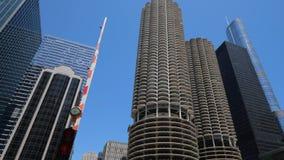 Τα υψηλά κτήρια ανόδου του Σικάγου κεντρικός φιλμ μικρού μήκους