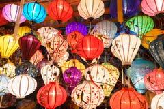 Τα φανάρια στην παλαιά πόλη ψωνίζουν σε Hoi, Βιετνάμ Στοκ φωτογραφίες με δικαίωμα ελεύθερης χρήσης