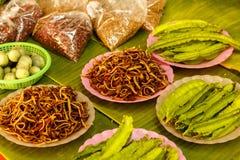 Τα φρέσκα λαχανικά στην αγορά χρονοτριβούν για την πώληση στην τοπική αγορά Chiang Mai, Ταϊλάνδη, Στοκ φωτογραφία με δικαίωμα ελεύθερης χρήσης