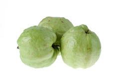 Τα φρούτα γκοϋαβών έχουν την πράσινη βιταμίνη C δερμάτων. Στοκ φωτογραφία με δικαίωμα ελεύθερης χρήσης