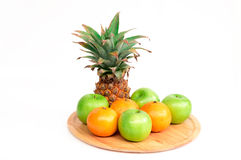 Τα φρούτα μιγμάτων Στοκ Εικόνες