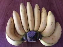 Τα φρούτα μπανανών είναι διατροφή και υγιεινά τρόφιμα Στοκ Φωτογραφία