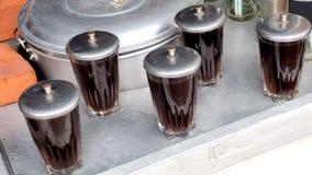 Τα φρούτα Arhat ή τα φρούτα μακροζωίας στα γυαλιά έχουν το ανοξείδωτο ομο Στοκ Εικόνα