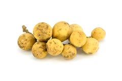 Τα φρούτα Longkong ή το parasiticum Lansium είναι τροπικά φρούτα σε Thail Στοκ εικόνα με δικαίωμα ελεύθερης χρήσης