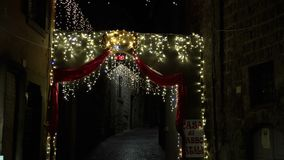 Τα φω'τα Χριστουγέννων προσφέρουν πάντα μια phantasagorical ατμόσφαιρα FDV φιλμ μικρού μήκους