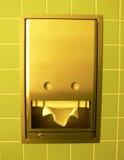 τα χέρια σκουπίζουν το σ&alp Στοκ Εικόνα