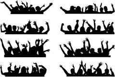 τα χέρια ωθούν επάνω το σας Στοκ εικόνες με δικαίωμα ελεύθερης χρήσης