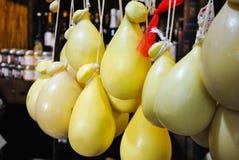 Τα χαρακτηριστικά γνωρίσματα τυριών Στοκ φωτογραφίες με δικαίωμα ελεύθερης χρήσης