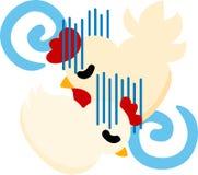 Τα χαριτωμένα εσωτερικά πτηνά διανυσματική απεικόνιση