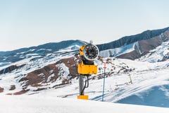 Τα χειμερινά βουνά στη gusar περιοχή του Αζερμπαϊτζάν Στοκ Φωτογραφίες