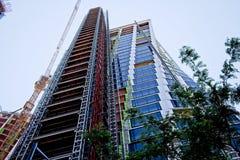 Τα ΧΙ κτήρια σύνθετα στην πόλη της Νέας Υόρκης στοκ εικόνες