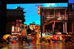 Τα χορός-μεγάλα σενάρια show† κλίμακας καρφιτσών κυλίσματος ο δρόμος legend† Στοκ εικόνες με δικαίωμα ελεύθερης χρήσης