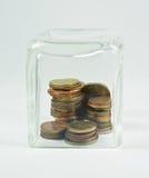 τα χρήματα προστατεύουν τ&o Στοκ Φωτογραφίες