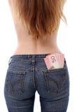 τα χρήματα σώζουν το φόρο σ&a Στοκ φωτογραφία με δικαίωμα ελεύθερης χρήσης