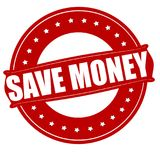 τα χρήματα σώζουν Στοκ εικόνες με δικαίωμα ελεύθερης χρήσης