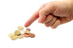 τα χρήματα σώζουν Στοκ Εικόνα