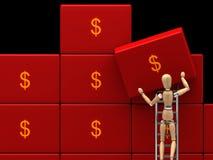 τα χρήματα σώζουν απεικόνιση αποθεμάτων
