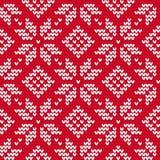 Τα Χριστούγεννα έπλεξαν το άνευ ραφής σχέδιο διανυσματική απεικόνιση