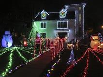 Τα Χριστούγεννα έρχονται νωρίς το Νοέμβριο στο Washington DC στοκ εικόνα με δικαίωμα ελεύθερης χρήσης