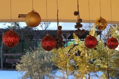 Τα Χριστούγεννα έρχονται στοκ εικόνες με δικαίωμα ελεύθερης χρήσης