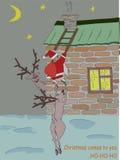 Τα Χριστούγεννα έρχονται Στοκ εικόνα με δικαίωμα ελεύθερης χρήσης