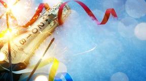 Τα Χριστούγεννα ή το νέο κόμμα έτους ` s προσκαλούν Στοκ Εικόνα