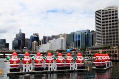 Τα Χριστούγεννα @ αγάπη μου ελλιμενίζουν το Σίδνεϊ Αυστραλία στοκ φωτογραφία με δικαίωμα ελεύθερης χρήσης