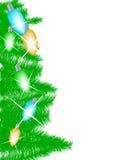 τα Χριστούγεννα ανάβουν τ& ελεύθερη απεικόνιση δικαιώματος