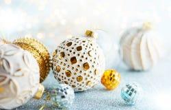 τα Χριστούγεννα διακοσμούν τις φρέσκες βασικές ιδέες διακοσμήσεων Στοκ φωτογραφίες με δικαίωμα ελεύθερης χρήσης