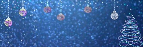 τα Χριστούγεννα διακοσμούν τις φρέσκες βασικές ιδέες διακοσμήσεων χαιρετισμός καλή χρονιά καρτών του 2007 διανυσματική απεικόνιση
