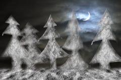 τα Χριστούγεννα διακοσμούν τις φρέσκες βασικές ιδέες διακοσμήσεων χαιρετισμός καλή χρονιά καρτών του 2007 απεικόνιση αποθεμάτων