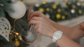 τα Χριστούγεννα διακοσμ απόθεμα βίντεο