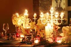 τα Χριστούγεννα διακοσμούν τις φρέσκες βασικές ιδέες γευμάτων Στοκ φωτογραφία με δικαίωμα ελεύθερης χρήσης