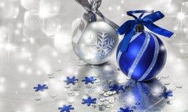τα Χριστούγεννα διακοσμούν τις φρέσκες βασικές ιδέες διακοσμήσεων νέο έτος Στοκ Εικόνα