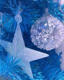 τα Χριστούγεννα διακοσμούν τις φρέσκες βασικές ιδέες διακοσμήσεων Στοκ Φωτογραφίες
