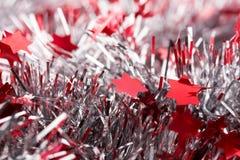 τα Χριστούγεννα διακοσμούν τις φρέσκες βασικές ιδέες διακοσμήσεων Στοκ Φωτογραφία