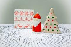τα Χριστούγεννα διακοσμούν τις φρέσκες βασικές ιδέες διακοσμήσεων Στοκ εικόνες με δικαίωμα ελεύθερης χρήσης