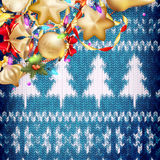 τα Χριστούγεννα διακοσμούν τις φρέσκες βασικές ιδέες διακοσμήσεων 10 eps Στοκ φωτογραφία με δικαίωμα ελεύθερης χρήσης