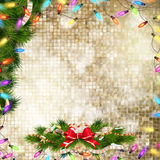 τα Χριστούγεννα διακοσμούν τις φρέσκες βασικές ιδέες διακοσμήσεων 10 eps Στοκ Εικόνες