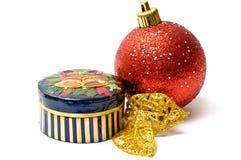 τα Χριστούγεννα κιβωτίων &al Στοκ εικόνες με δικαίωμα ελεύθερης χρήσης