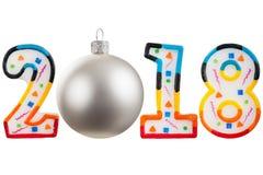 Τα Χριστούγεννα λογαριάζουν το 2018 Στοκ φωτογραφίες με δικαίωμα ελεύθερης χρήσης