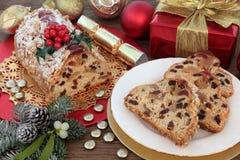 Τα Χριστούγεννα μεταχειρίζονται Στοκ φωτογραφία με δικαίωμα ελεύθερης χρήσης