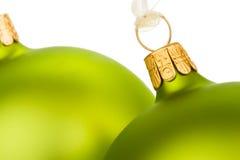 τα Χριστούγεννα πηγαίνουν πράσινα Στοκ Φωτογραφίες