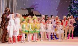 Τα Χριστούγεννα των παιδιών παρουσιάζουν Στοκ εικόνα με δικαίωμα ελεύθερης χρήσης